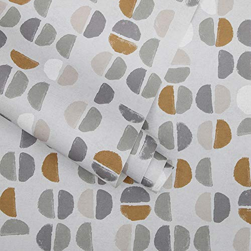 Tempaper Sienna Coffee Beans | Designer Removable Peel and Stick Wallpaper