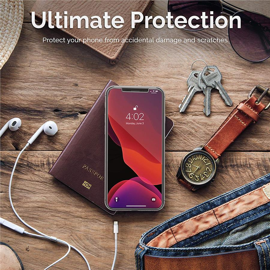 Tempered Glass Screen Protector for iPhone 11 Pro Max & XS Max
