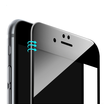 Tempered Glass Screen Protector for iPhone 6 Plus / 6s Plus (BLACK)