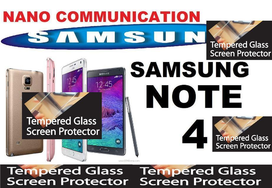 TEMPERED GLASS SCREEN PROTECTOR Samsung Galaxy Note 4 N910