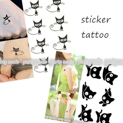 Temporary Colored Sticker Party Tattoo Nature