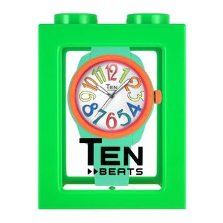 TEN BEATS Unisex Silicone Strap Watch (BF130206)