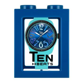 TEN BEATS Unisex Silicone Strap Watch (BF130210-C)