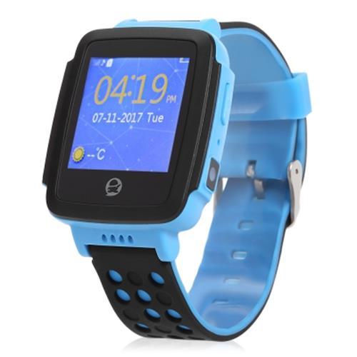 TENCENT QQ C002 CHILDREN SMART WATCH TELEPHONE (BLUE)