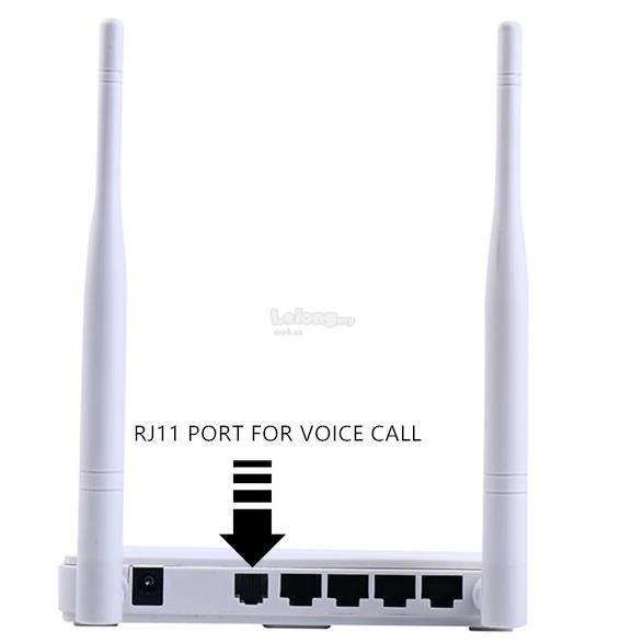 TENDA 4G680 4G LTE Wireless N300 WiFi Router Support Voice Call voLTE