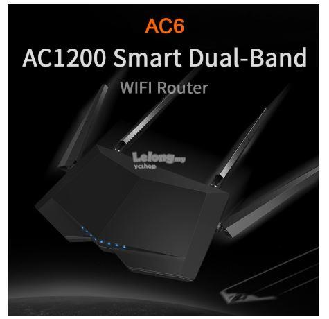 Tenda AC1200 Smart Dual-Band Wireless Router (AC6)