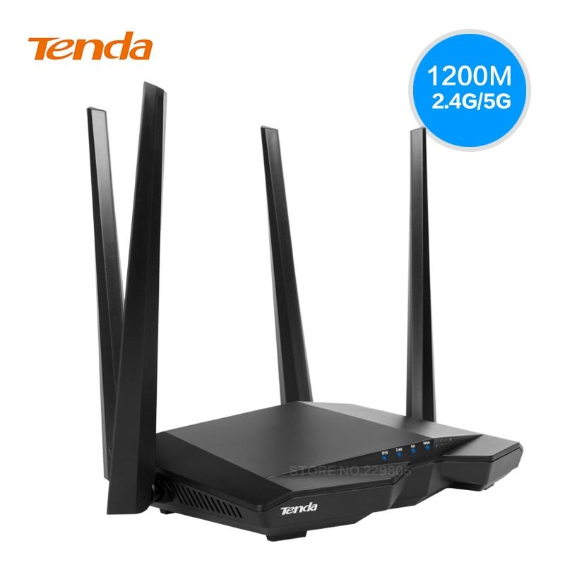 TENDA AC1200 WIRELESS DUAL BAND HIGH POWER ROUTER (AC6)