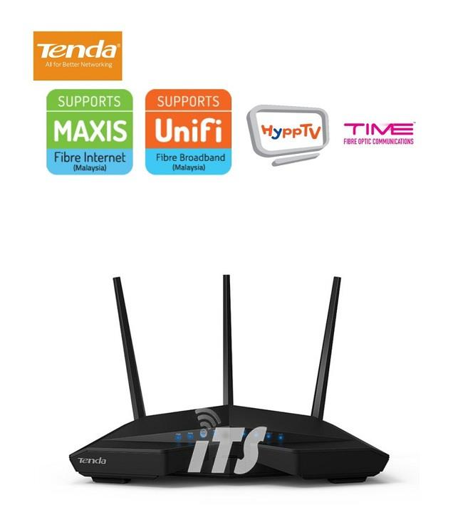 Tenda AC1900 Smart Dual-Band Gigabit WiFi Router (AC18)