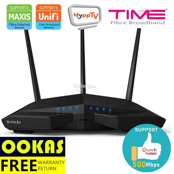 TENDA AC1900 WiFi Gigabit Wireless Router AC18 UniFi Time Fiber