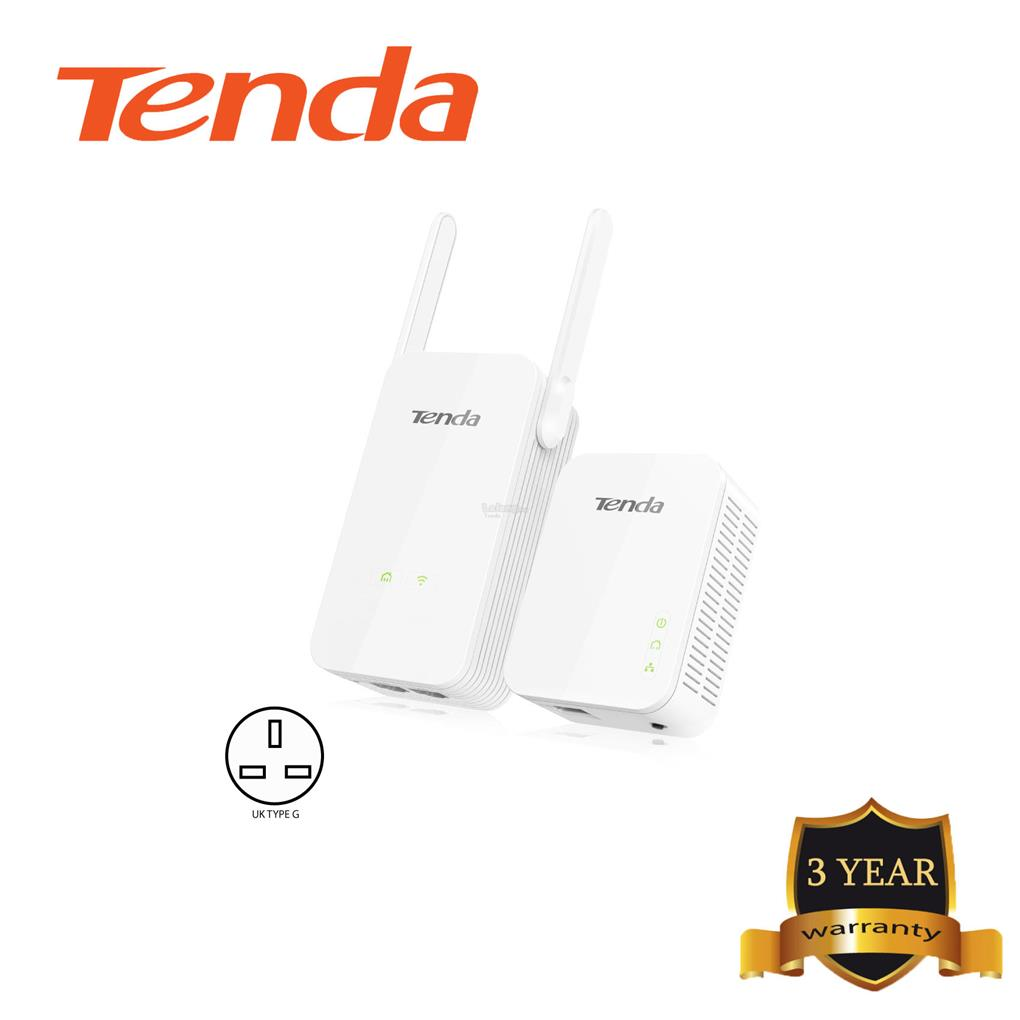 Tenda PH5 AV1000 Wi-Fi Powerline Extender Kit