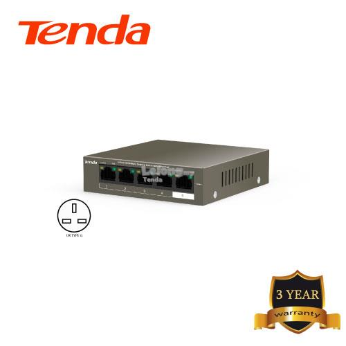 Tenda TEF-1105P-4-63W 5-port 10/100Mbps Desktop Switch with 4-port PoE