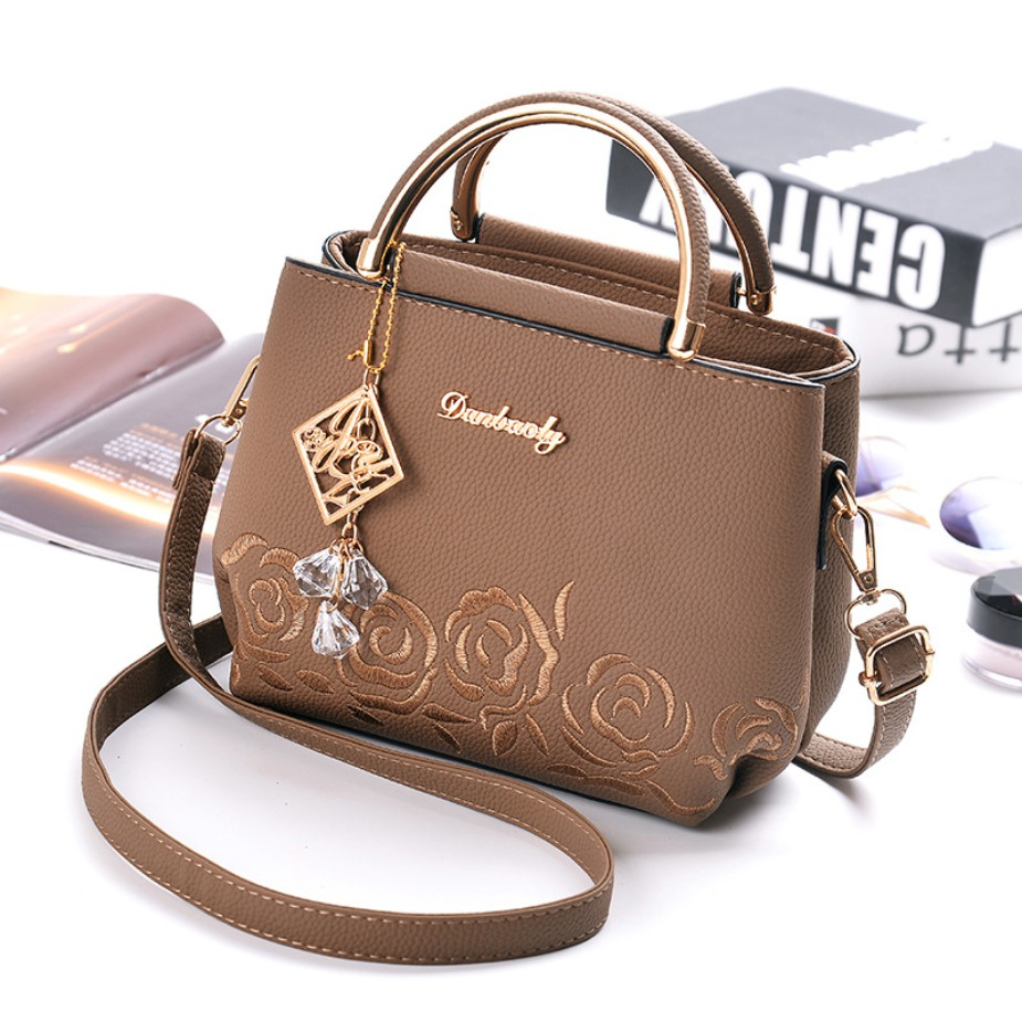 Tenderness  & Romance Crossbody Sling Handbag