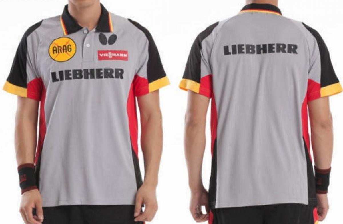 low cost dba18 45793 Tennis Shirt LIEBHERR Germany TENERGY butterfly Men Women Zhang Jike