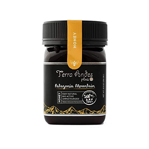 Terra Andes Raw Honey Patagonia Mountain – APF 100 Pure Unpasteurized Honey