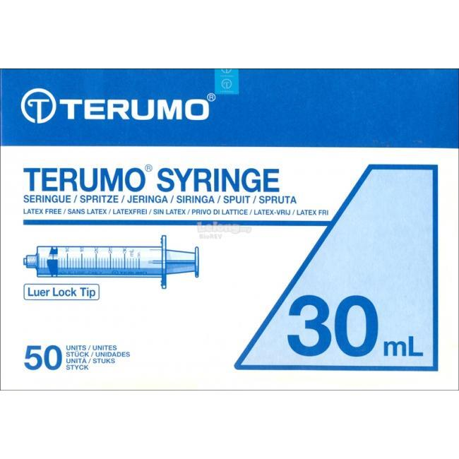 Terumo 30ml Syringe without Needle, Luer Lock