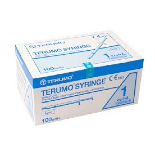 Terumo Syringe 1cc 1ml 100s Lue End 1272018 1058 Am