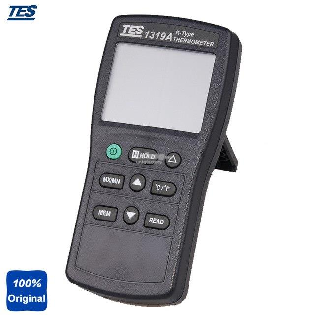 TES-1319A K Thermocouple Digital Thermometer Temperature Tester +Probe