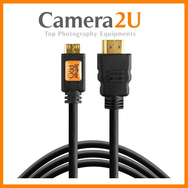 Tether Tools TetherPro Mini HDMI Male (Type C) to HDMI Male (Type A) C