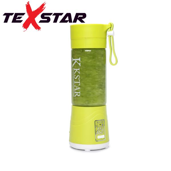 TeXstar Juice Cup 6 Blade Juicer Fruit Portable Blender Mixer (Green)