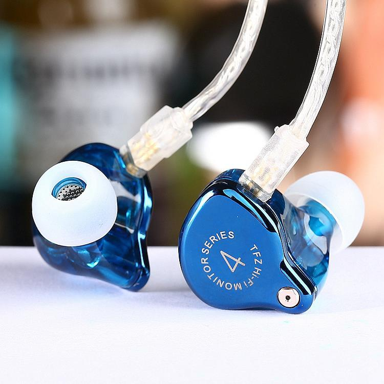 TFZ Series 4 IEM / in-ear headphone graphene driver / detachable cable