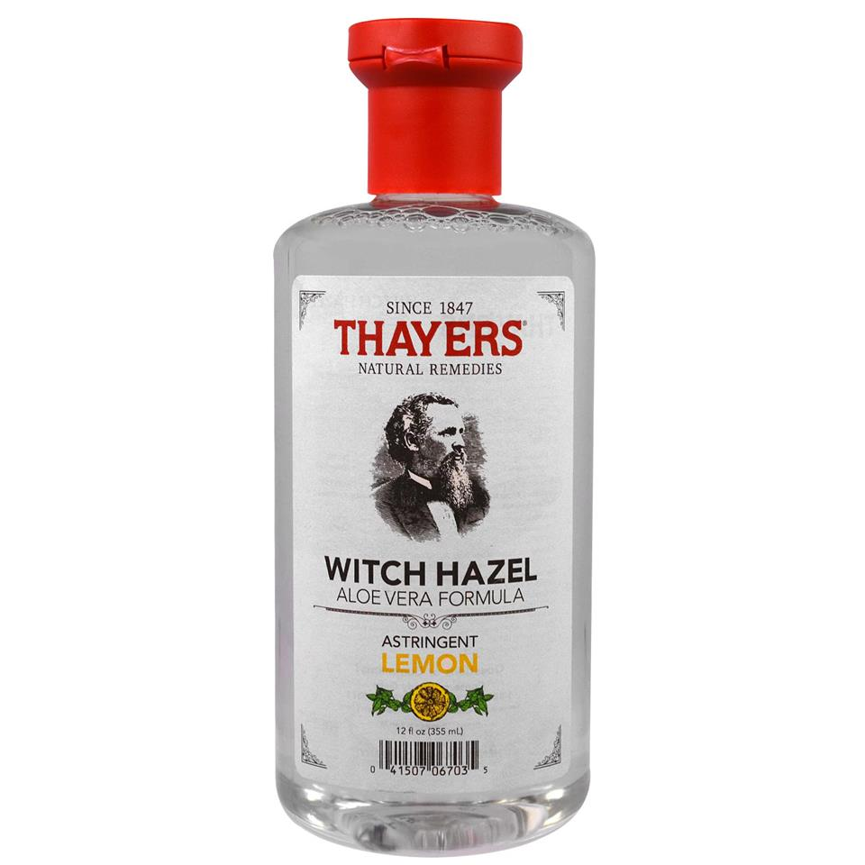 Thayers, Astringent Lemon Witch Hazel, Aloe Vera Formula (355 ml)