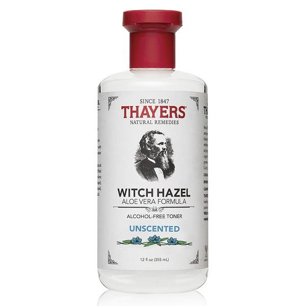 Thayers, Unscented Witch Hazel, Alcohol-Free Toner (355ml)