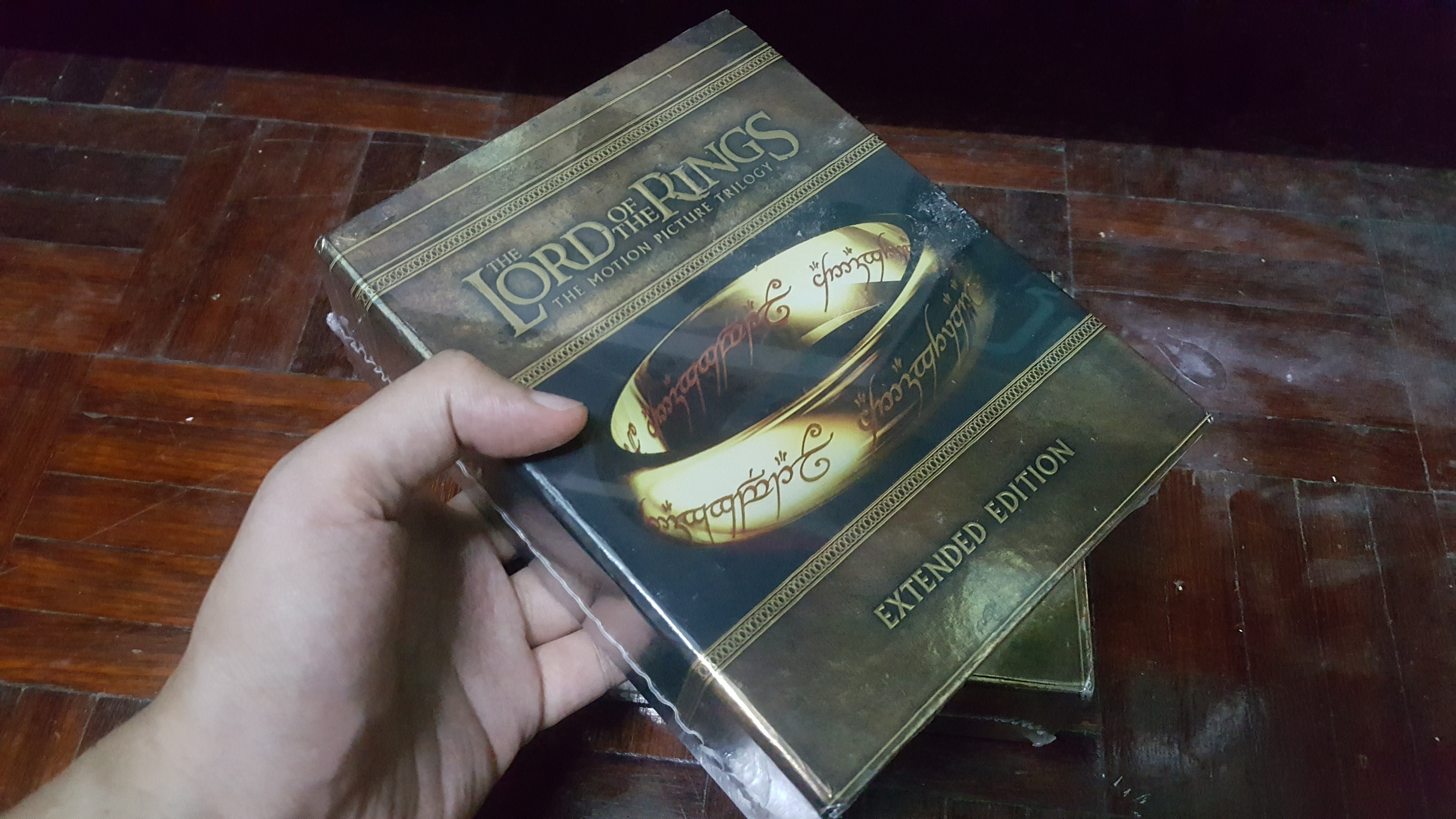 The Lord of the Rings: The Motion Picture Trilogy original blu ray new