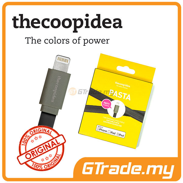 THECOOPIDEA Lightning Fast Charger USB Cable BK Apple iPad Air Mini