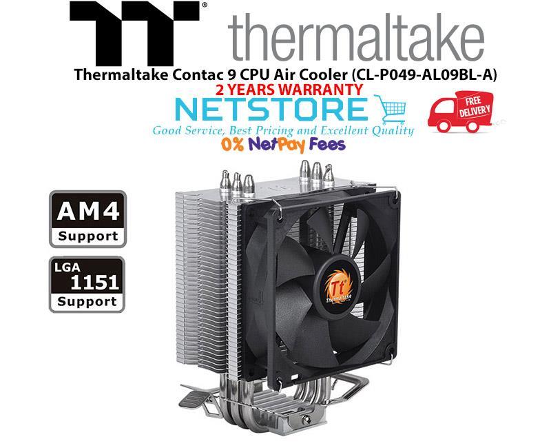 Best Air Cooler Cpu 2020 Thermaltake Contac 9 CPU Air Cooler (end 7/16/2020 4:15 PM)