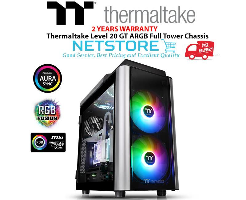 Thermaltake Level 20 GT ARGB Full Tower Chassis CA-1K9-00F1WN-02