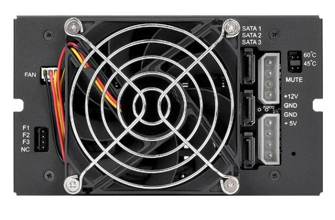 THERMALTAKE MAX 3503 3.5'' HDD 3 BAY RACK TOOLS (ST-006-M31STZ-A1)