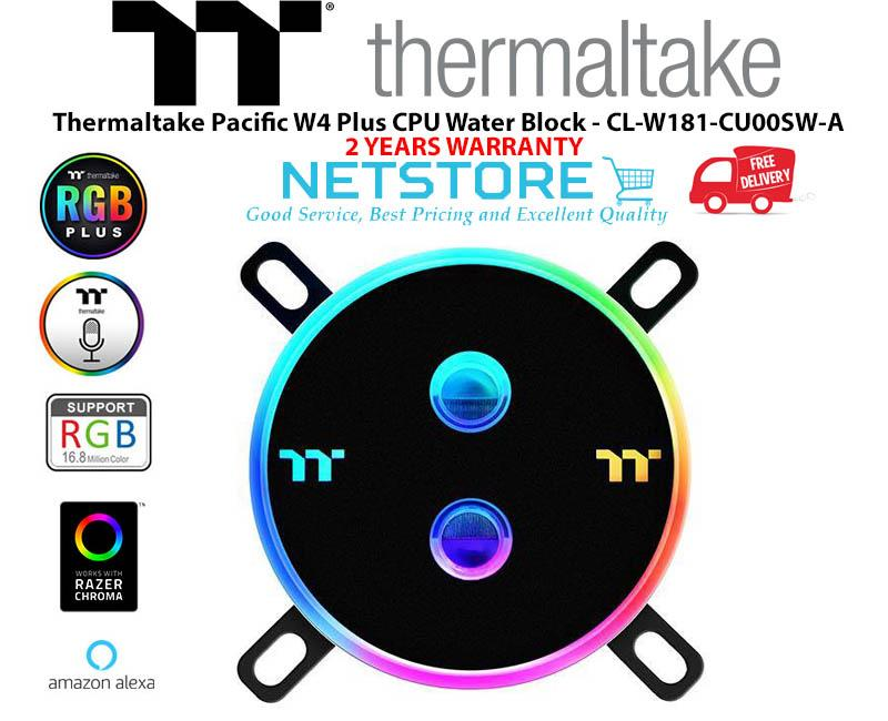 Thermaltake Pacific W4 Plus CPU Water Block - CL-W181-CU00SW-A