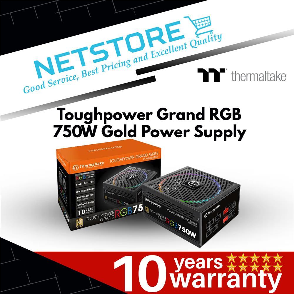 THERMALTAKE TOUGHPOWER GRAND RGB 750W POWER SUPPLY TPG-0750FPCGEUR