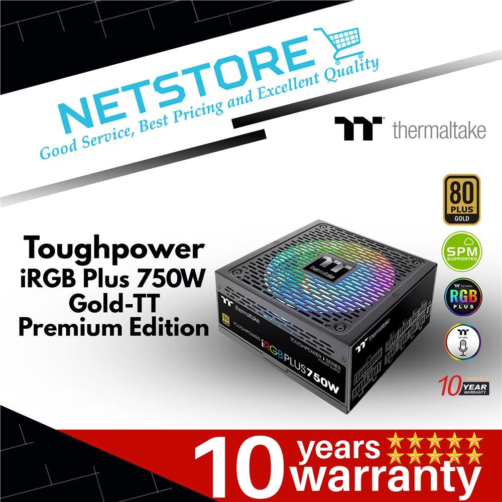 Best Power Supply 2020.Thermaltake Toughpower Irgb Plus 750w Gold Tt Premium Power Supply