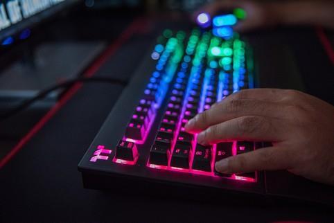 33ed9c3fa66 Thermaltake TT Premium X1 RGB Cherry MX Blue Switch Gaming Keyboard