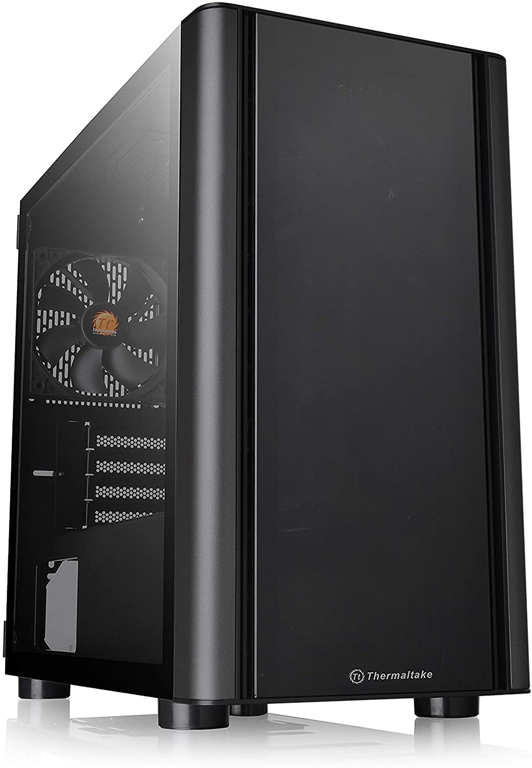 THERMALTAKE V150 TG MICRO TOWER CHASSIS (BLACK) - CA-1R1-00S1WN-00
