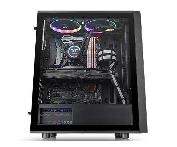 Thermaltake Versa J25 TG Tempered Glass RGB Edition Mid-Tower Chassis