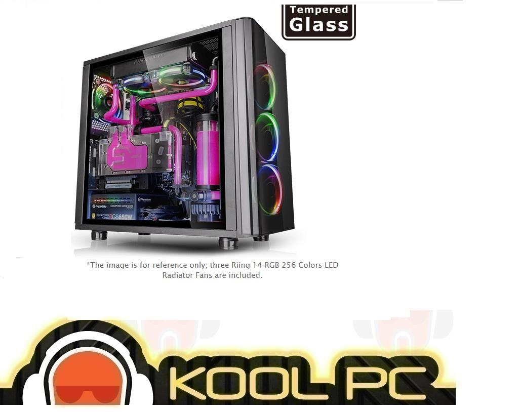 * Thermaltake View 31 Tempered Glass RGB Edition Mid Tower Chassis