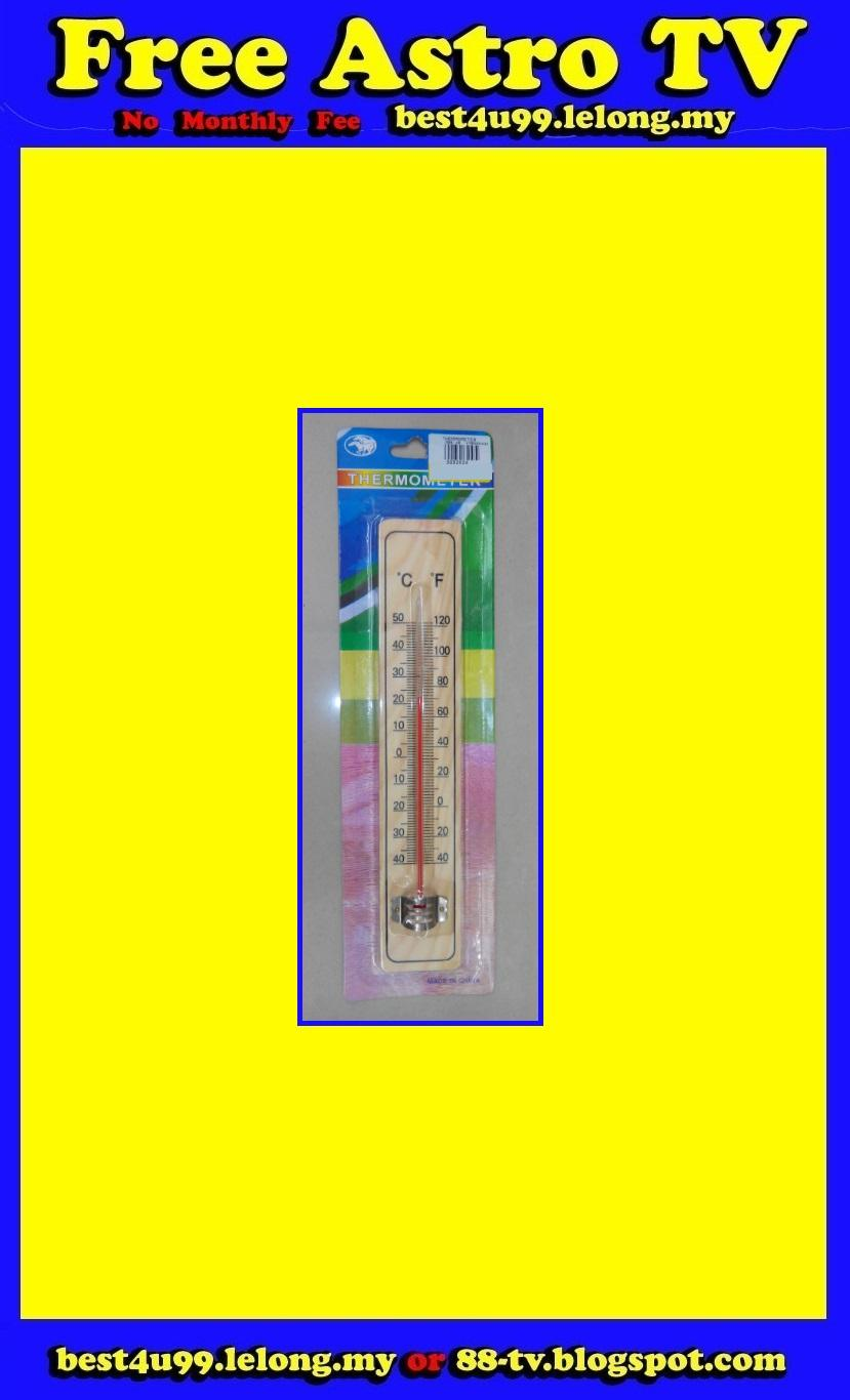 Thermometer Jangka Suhu Temperature Meter 4 room house shop office RM