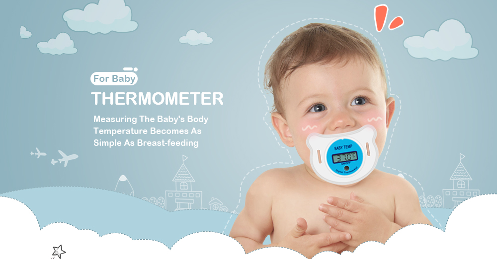 Thermometers - Digital Thermometer - PORTABLE Lcd Digital Babies Mouth..