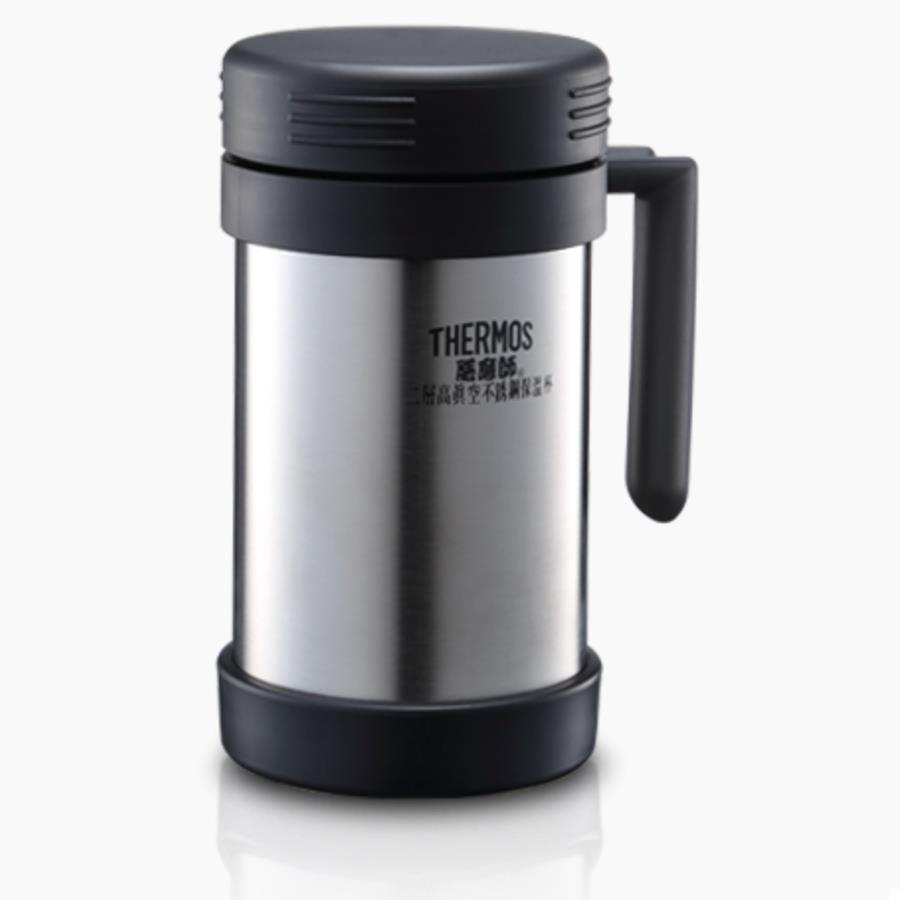 Delightful Thermos 500ml Office Mug Thermos Vacuum Insulated Mug (JMF 500)   Black