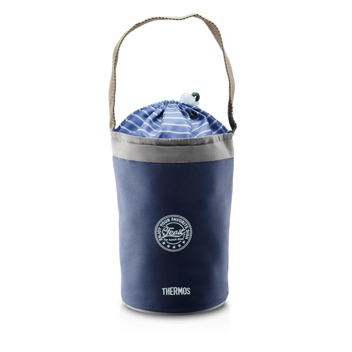 Thermos 800ml Lifestyle Lunch Jar w/Bag (Navy)