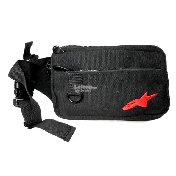 Thick Canvas Waist Pouch