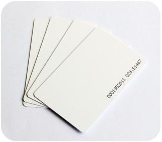 Thin RFID Card Proximity with Serial Number (4pcs per pack)