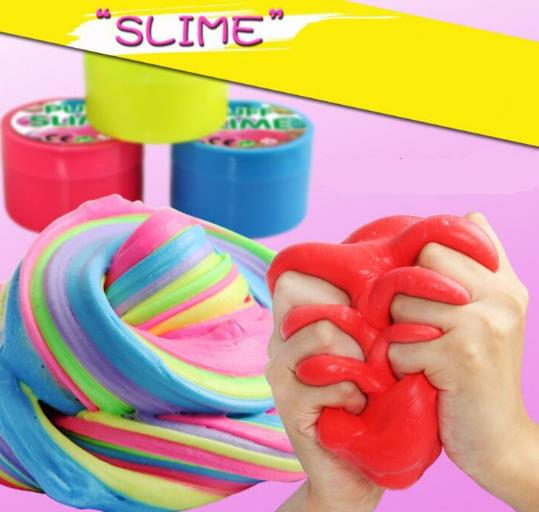 Thinking Putty DIY Fluffy Slime Modeling Clay