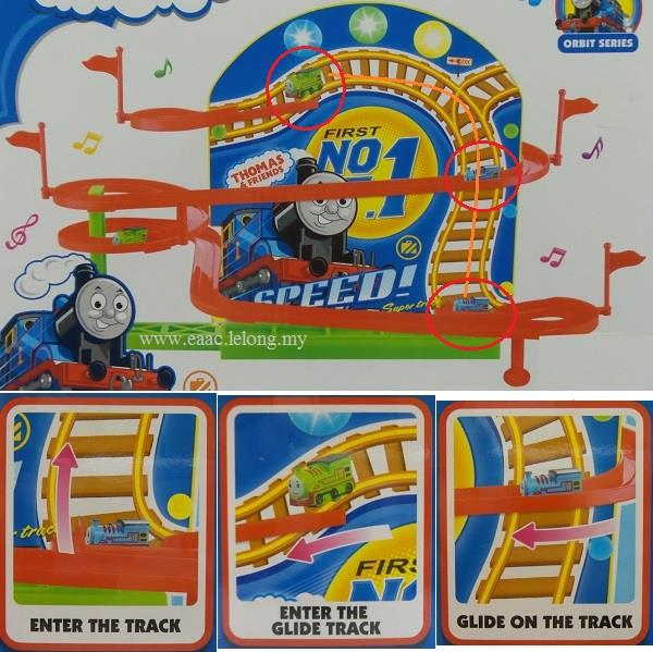 Thomas Friends Super Train A To End PM - Us supertrain map