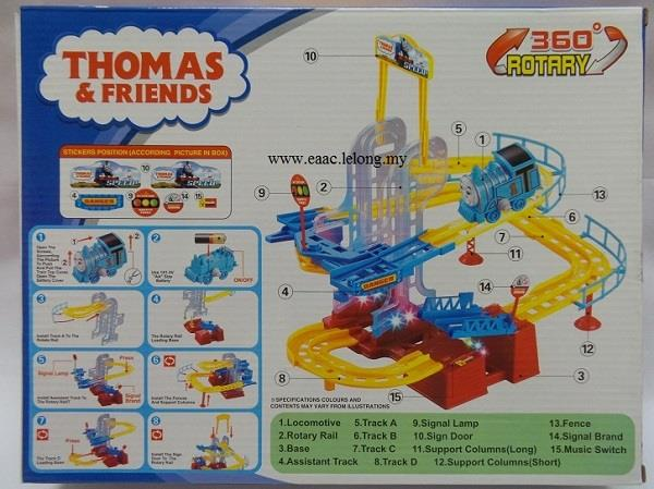 Thomas Friends Toys Train 360 Rotary