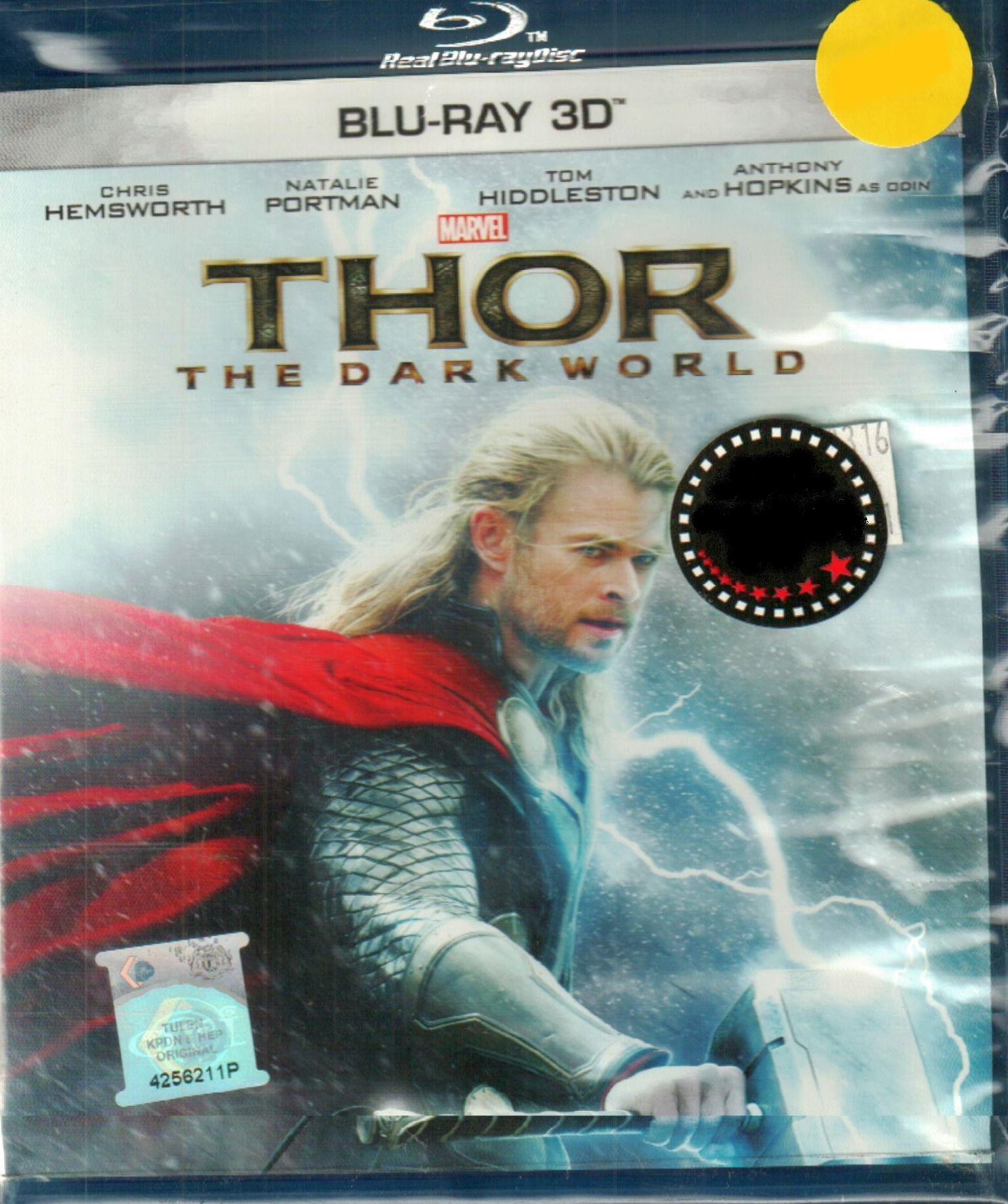Thor The Dark World Blu-Ray 3D