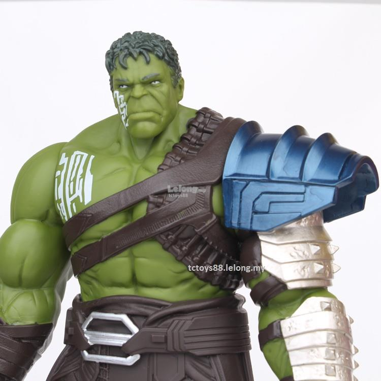 THOR HULK Ragnarok Gladiator Figures Big 33cm Hulk Action Figure Toys