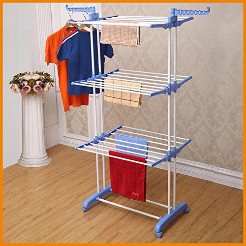 Three Layers Laundry Clothes Rack H End 5242020 1115 Am